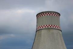 Upał i elektrownia Zdjęcia Stock