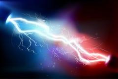 Upału oświetlenie rozładowanie elektryczny również zwrócić corel ilustracji wektora ilustracja wektor