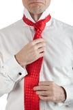 upaćkany krawat Fotografia Royalty Free