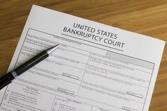 Upadłościowy sąd Zdjęcie Stock