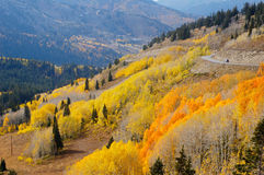 upadek góry Fotografia Royalty Free