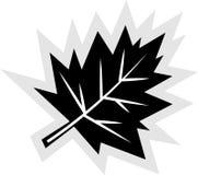 upadek ikony liści, ilustracja wektor