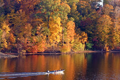 upadek jeziora obrazy royalty free