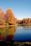 upadek jeziora zdjęcie royalty free