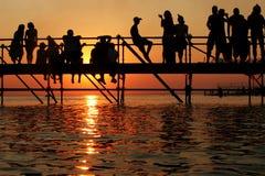 upadek morza Zdjęcia Stock