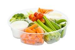 upadu ścieżki veggies Fotografia Stock