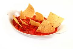 upadu salsa Obrazy Stock