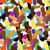 Upandown Footprint Pattern Royalty Free Stock Photo