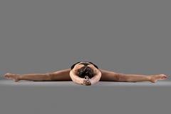 Upavishtha Konasana yoga pose Stock Images