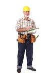 Upbeat worker