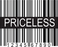Upc Code Priceless Royalty Free Stock Photo