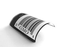 UPC Genetically Modified Royalty Free Stock Photos