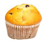Upcake de raisin sec en papier culinaire D'isolement Photographie stock libre de droits