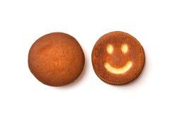 Upcake del ¡de Ð con sonrisas Foto de archivo