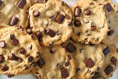 upclose печений шоколада обломока Стоковое Изображение RF