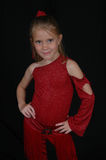 Upclose Young Dancer Royalty Free Stock Photos
