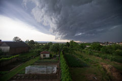 Upcoming big storm Stock Photo