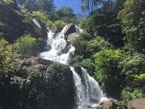 Upcountry Waterfall in Sri Lanka Stock Photos