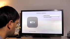 Update of Apple TV 4k in living room