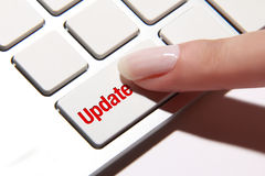 Update button Royalty Free Stock Photos