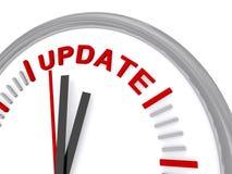 Update clock Stock Photography