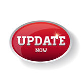 Update now button Royalty Free Stock Photo