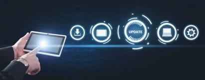 Update Program. Business, Technology, Internet concept stock image