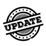 Update rubber stamp Royalty Free Stock Image