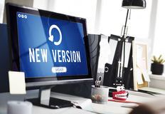 Update Upgrade Installation Latest Updating Concept royalty free stock photos