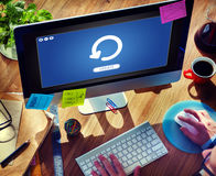 Update Upgrade Installation Latest Updating Concept Royalty Free Stock Image
