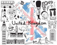 Update version - Travel to United kingdom England and Scotland Stock Photo