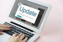 Update Window Popup Alert Concept Stock Image