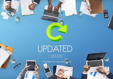 Updated Upgrade New Download Improvement Concept Royalty Free Stock Photography