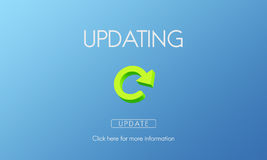 Updating Upgrade New Download Improvement Concept Stock Images