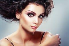 Updo Hairstyle Στοκ φωτογραφίες με δικαίωμα ελεύθερης χρήσης