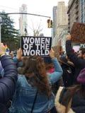 Upełnomocnienie, kobiety ` s Marzec, NYC, NY, usa Fotografia Royalty Free