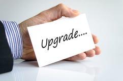 upgrade photo stock