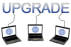 Upgrade word Stock Images