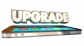 Upgrade Your Cell Smart Mobile Phone New Latest Hot Model Royalty Free Stock Photography