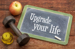 Upgrade your life concept Stock Photo