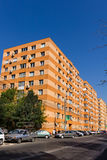 Upgraded communist apartments Stock Photography