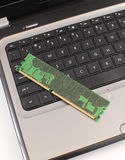 Upgrading Your Laptop RAM Royalty Free Stock Images