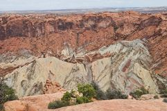 Upheaval Dome Stock Photography