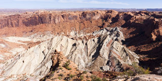 Upheaval Dome at Canyonlands National Park, Utah Stock Photos