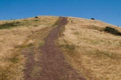 Uphill Royalty Free Stock Image