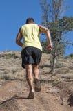 Uphill run Royalty Free Stock Photography