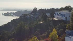 Uphill view Stock Photo