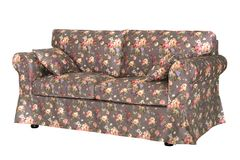 Sofa in style Provence on a white background Royalty Free Stock Image