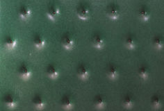 Upholstered leather wall Royalty Free Stock Photos