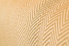 Upholstery.Close up fabric texture. Zigzag pattern Stock Photography